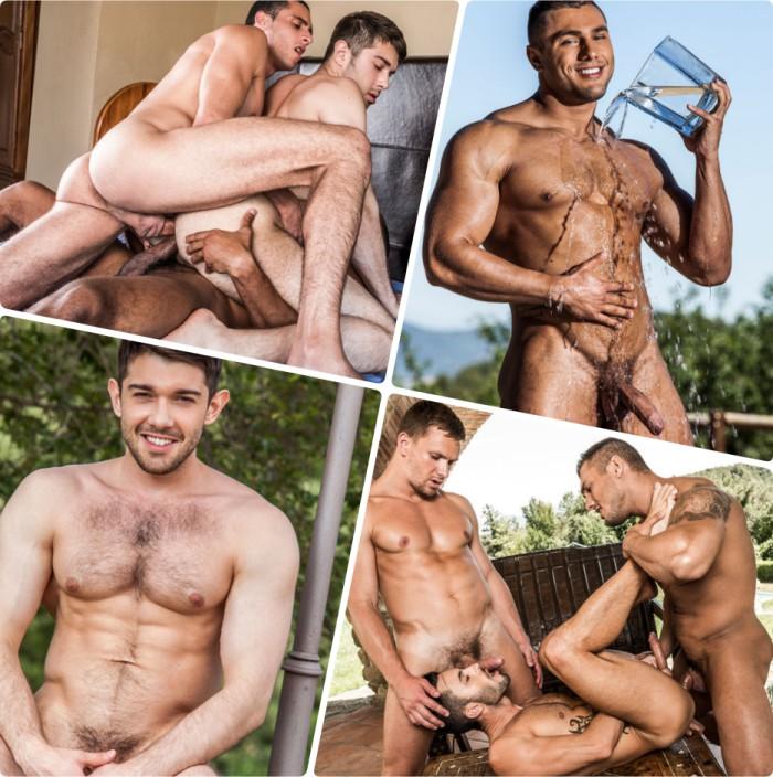 Brock Magnus Ben Batemen Gay Porn Bareback Sex