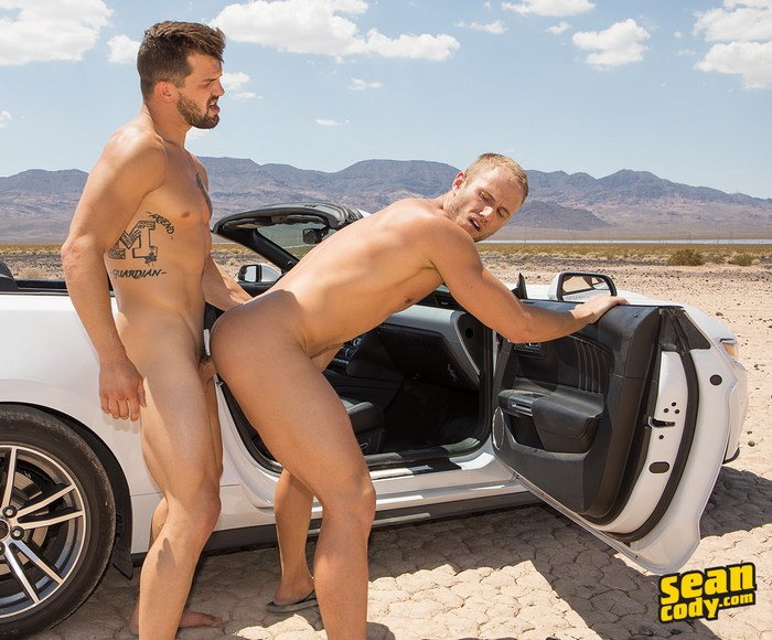 Brysen Sean Cody Blake Gay Porn Car Fuck Desert