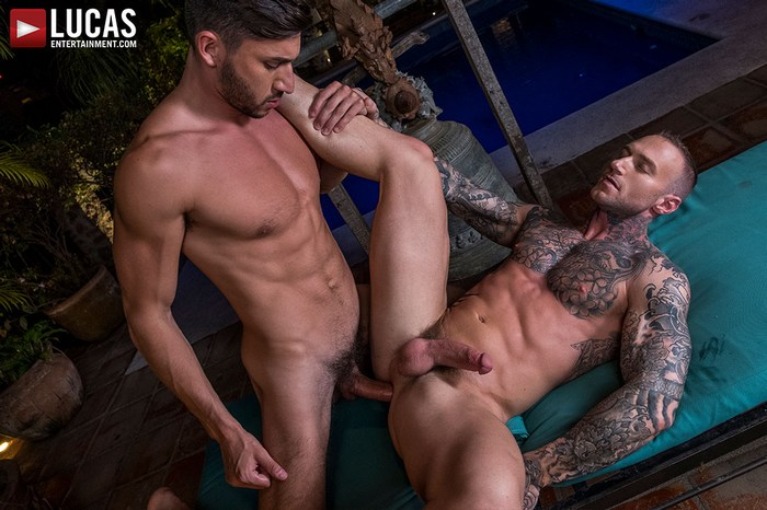 Dylan James Gay Porn Scott Demarco Bareback Sex