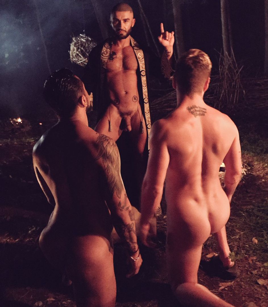 Francois Sagat Gay Porn CockyBoys Boomer Banks Josh Moore Behind The Scenes