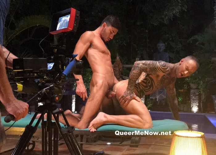 Gay Porn Behind The Scenes Dylan James Bottoms Scott Demarco