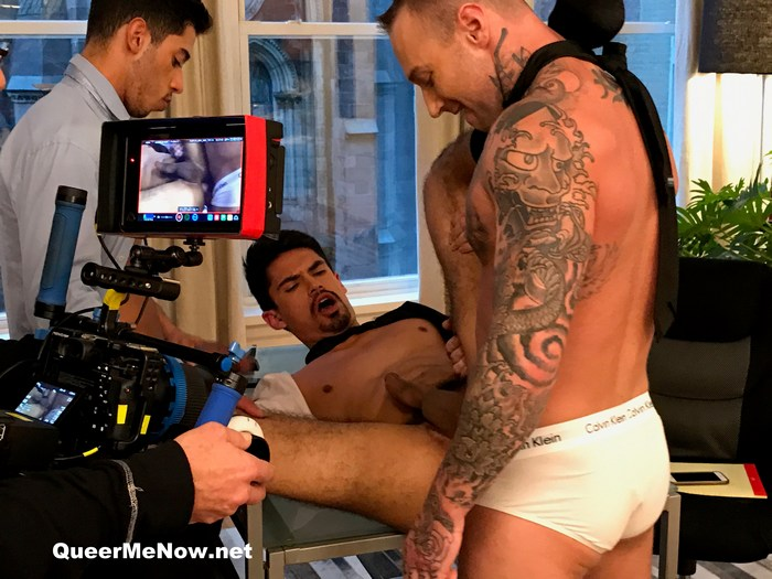 Gay Porn Behind The Scenes Dylan James Lee Santino Drae Axtell
