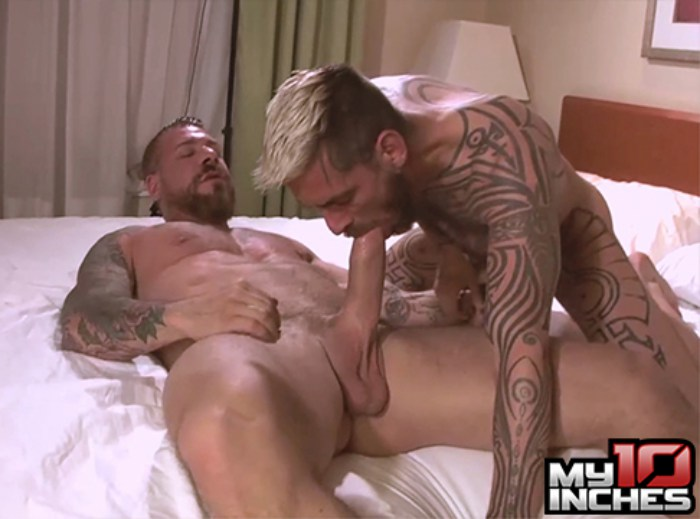 Logan McCree Gay Porn Rocco Steele Big Cock