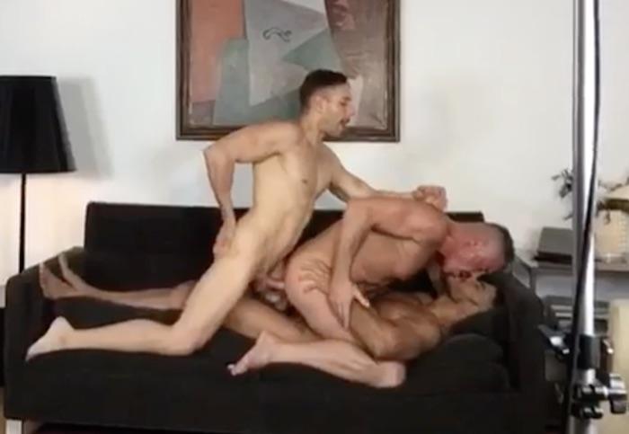 Marc Ferrer Gay Porn DP Diego Lauzen Mario Galeno KristenBjorn