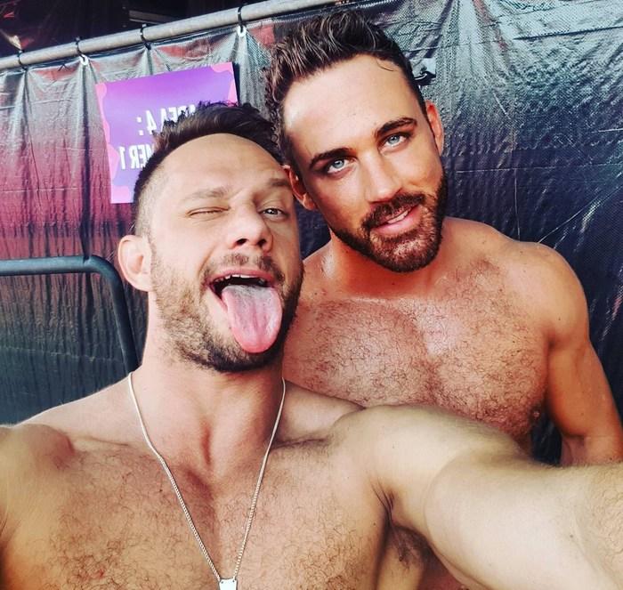 Paul Europe Muscle Hunk Gay Porn Star
