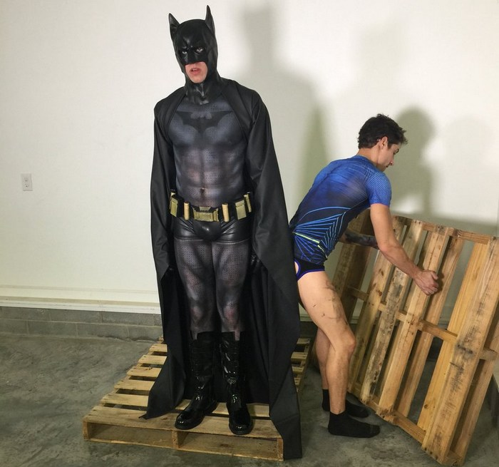 Batman Robin Gay Porn Parody Behind The Scenes
