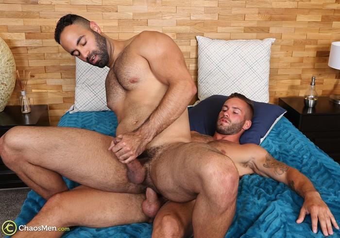 Bronson Gay Porn Lorenzo ChaosMen Bareback Sex