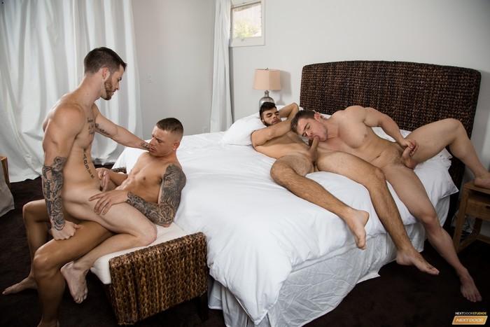 Resultado de imagem para Quentin Gainz, Gunner, Eric Turner & Zey Hardy porn