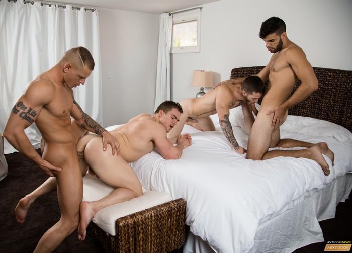 Eric Turner Gay Porn Orgy Quentin Gainz Gunner Zey Hardy Bareback Sex