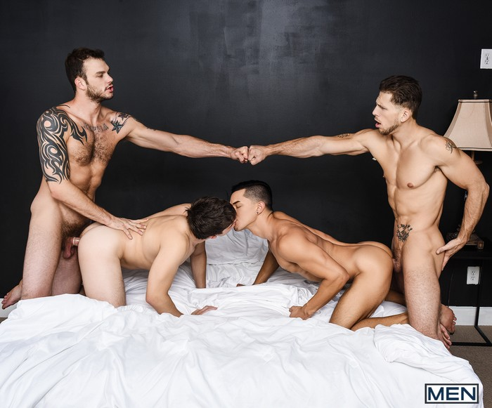 Gay Porn Orgy Roman Todd Will Braun Cliff Jensen Ethan Slade