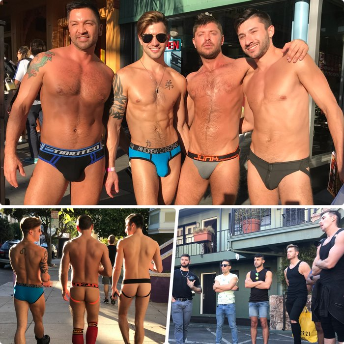 Gay Porn Stars HustlaBall San Franciso 2017 Castro