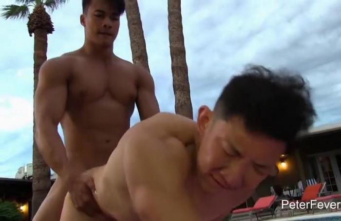 Ken Ott Asian Gay Porn Muscle Jock Cody Hong PeterFever