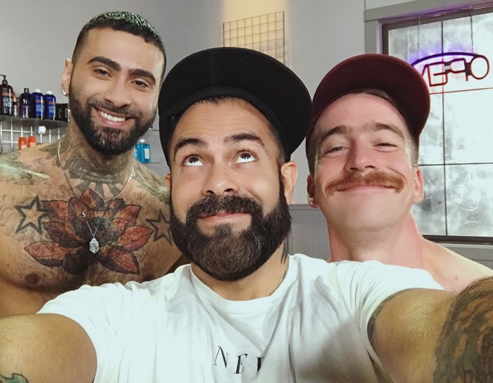 Nate Stetson Rikk York Gay Porn Behind The Scenes