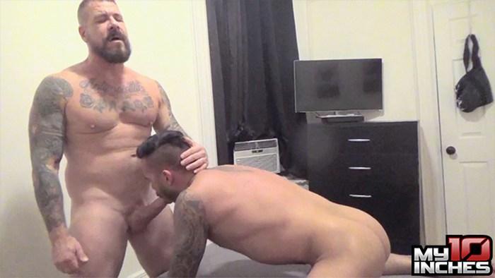 Rocco Steele Gay Porn Big Cock Bareback Sex Cris Knight