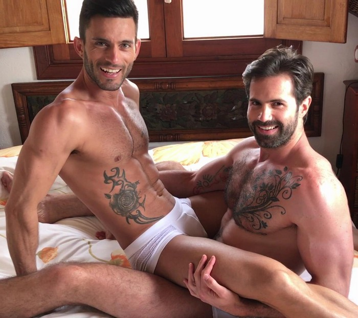 Watch Sex Position Challenge With Gay Porn Stars Dani Robles And Andy Star In Spain Video