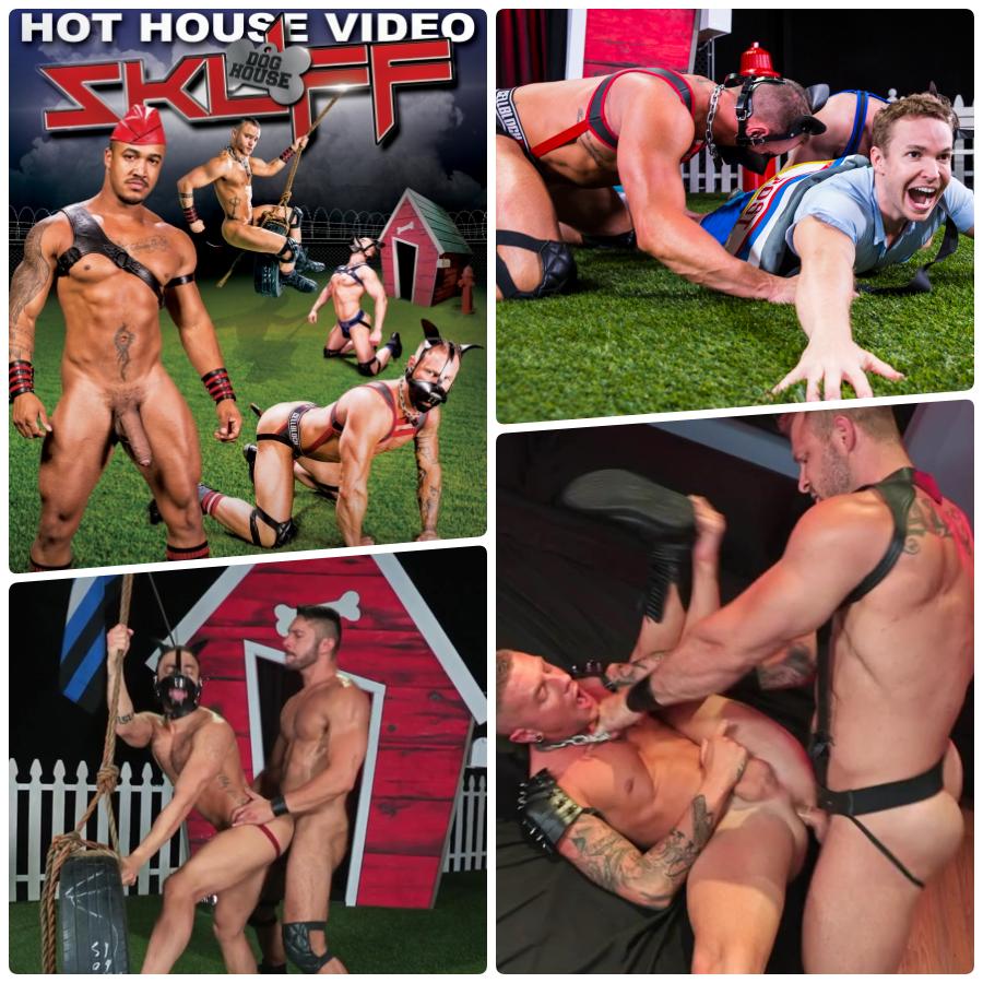 Dog house porn