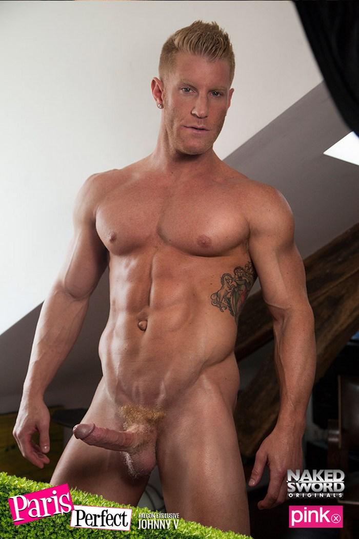 Francois Sagat Gay Porn JohnnyV Muscle Bottom