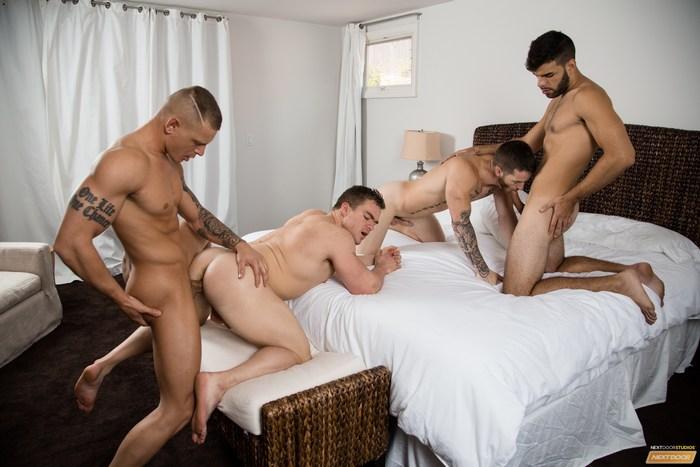 Gay Porn Bareback Orgy Quentin Gainz Gunner Canon Eric Turner Zey Hardy