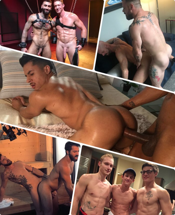 Gay Porn Behind The Scenes Armond Rizzo Sergeant Miles Pierce Paris Hector de Silva Evan Parker Blake Mitchell
