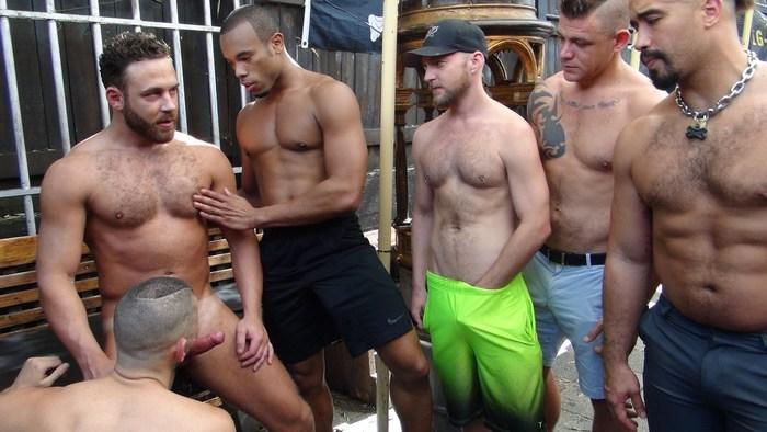Gay Porn Behind The Scenes Logan Moore Gang Bang