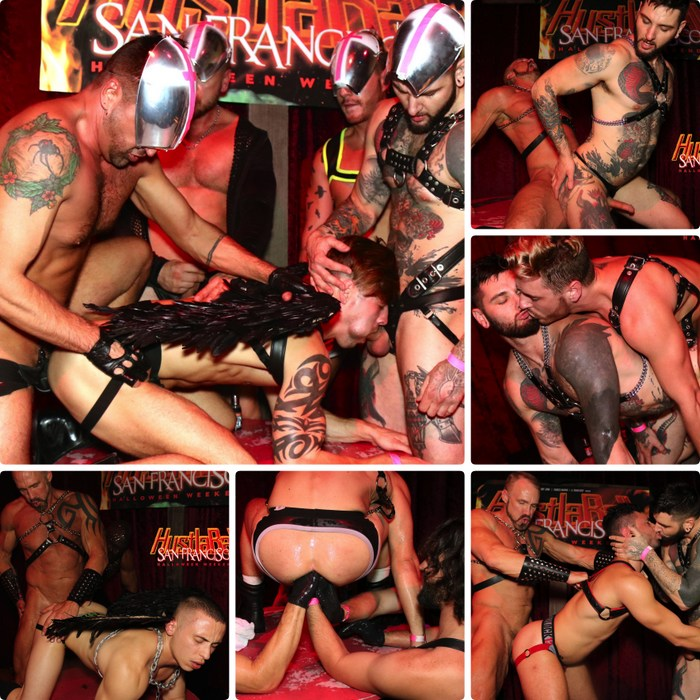 Gay Porn Fuck HustlaBall San Francisco Sex Party 2017