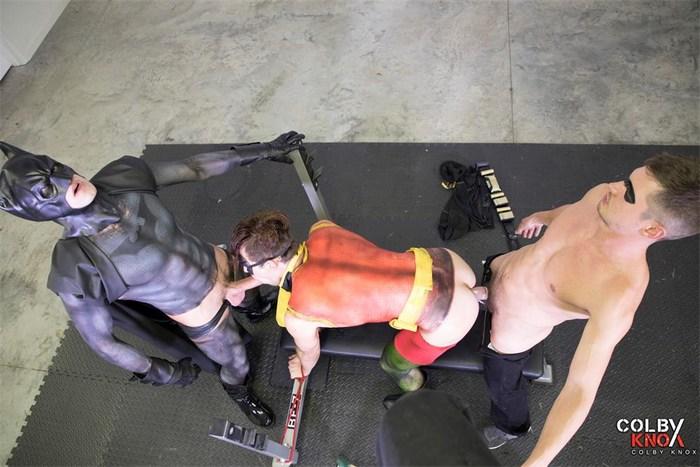 Gay Porn Parody Batman Robin Adventures Fuck