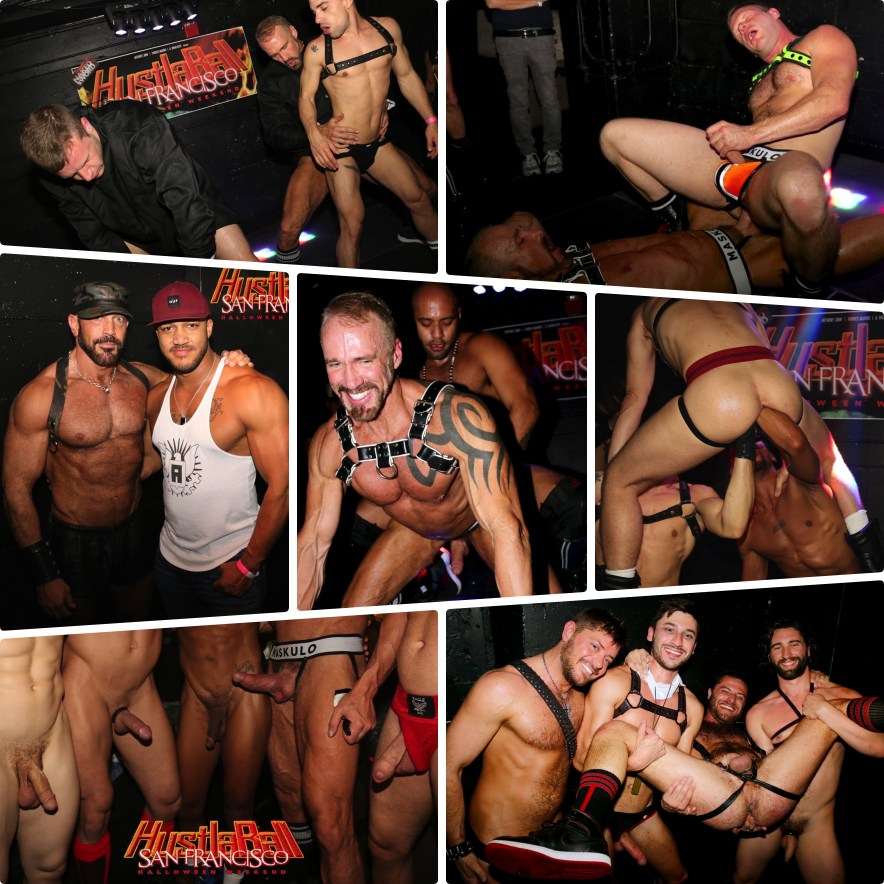 Gay Porn Stars Fucking HustlaBall San Francisco Sex Shows