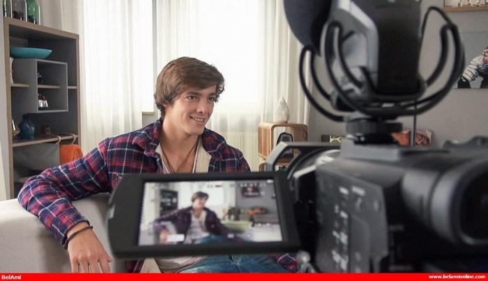 Helmut Huxley BelAmi Gay Porn Naked Interview