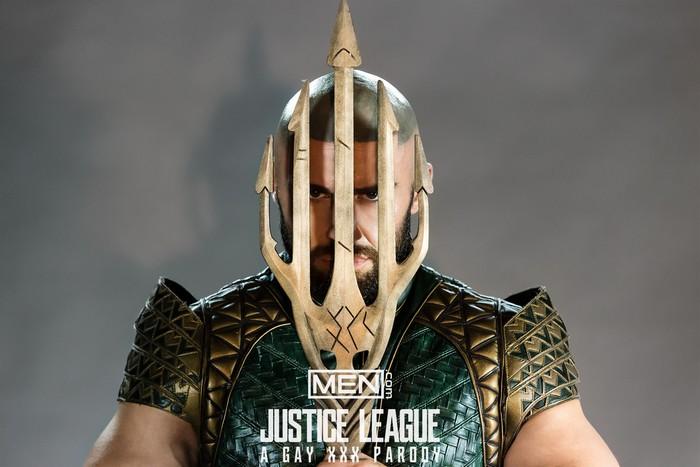 Justice League Gay Porn Parody Aquaman Francois Sagat
