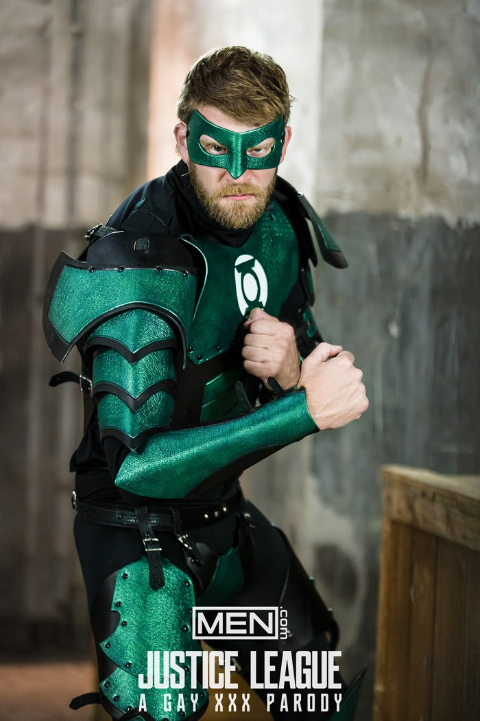 Justice League Gay Porn Parody Green Lantern Colby Keller