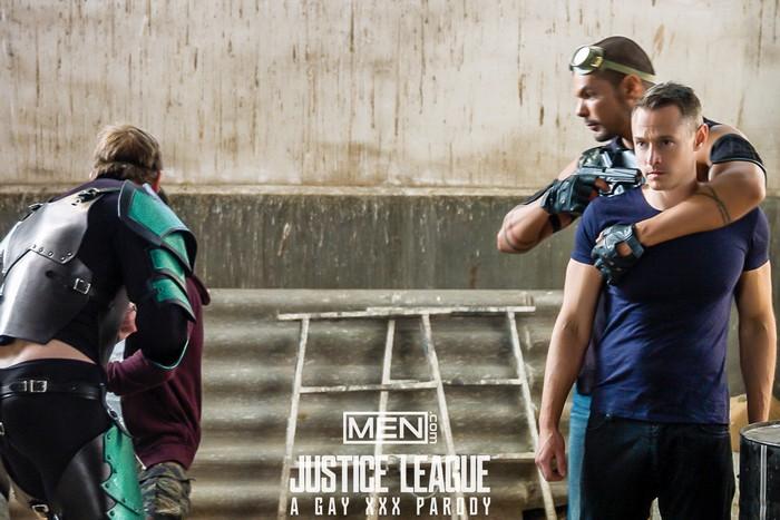 Justice League Gay XXX Parody Davey Wavey