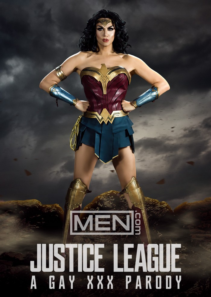 Justice League Gay XXX Parody Wonder Woman Manila Luzon