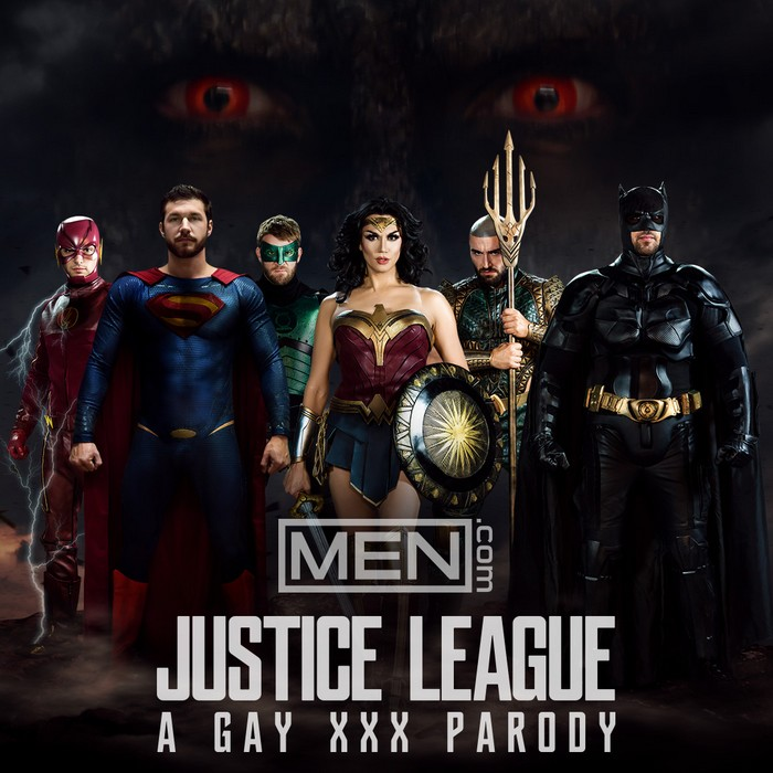 Justice League Gay XXX Parody