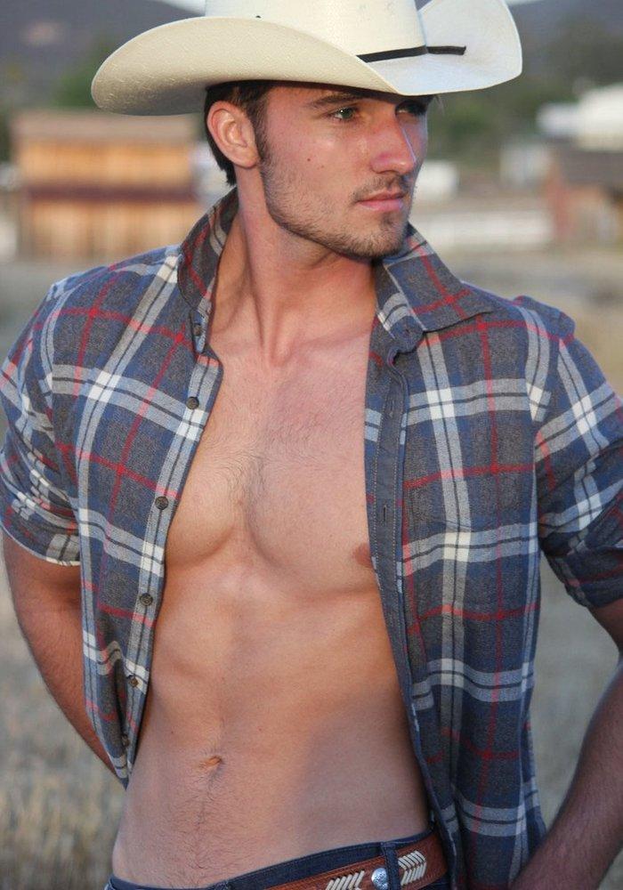 Luke Wilder Gay Porn Star Helix Studios Cowboy