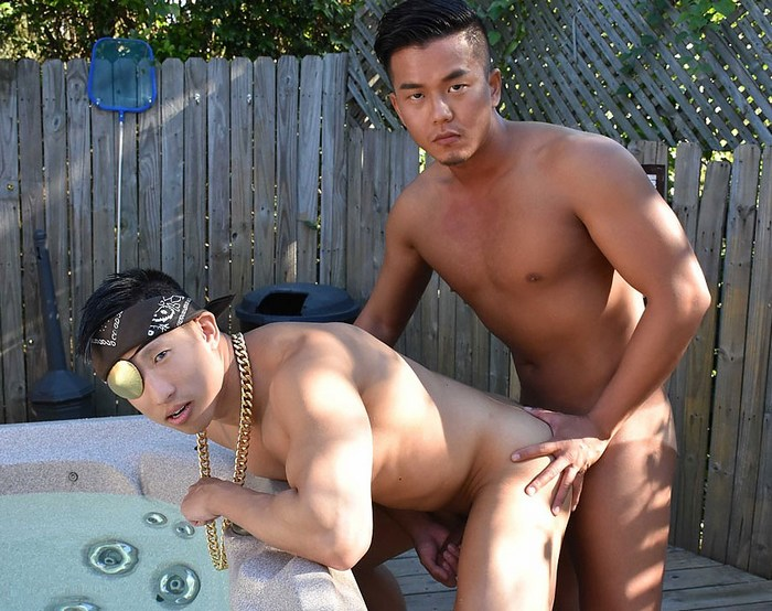 Asian Gay Porn PeterFever Jessie Lee Alex Chu Muscle Jock