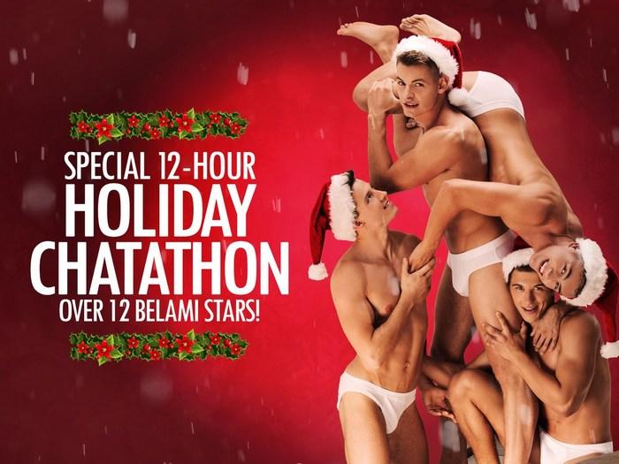 BelAmi Gay Porn Holiday Chatathon