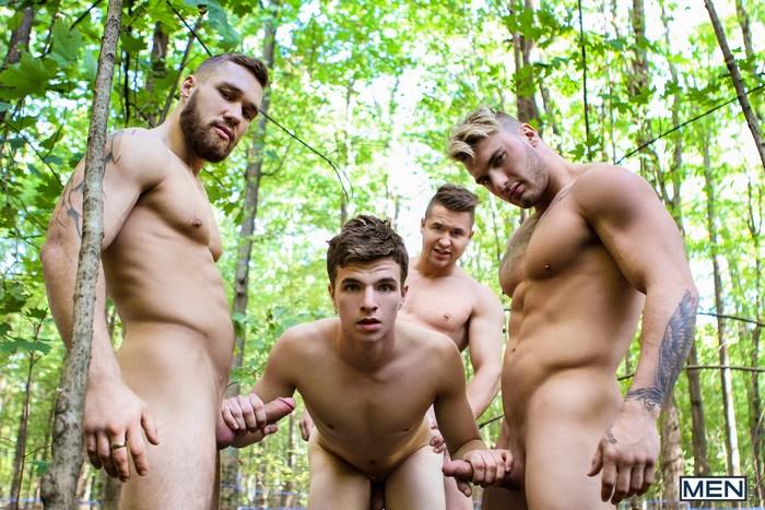 Bellamy Bradley Gay Porn GangBang Wiliam Seed Alex Fortin Morgan Blake