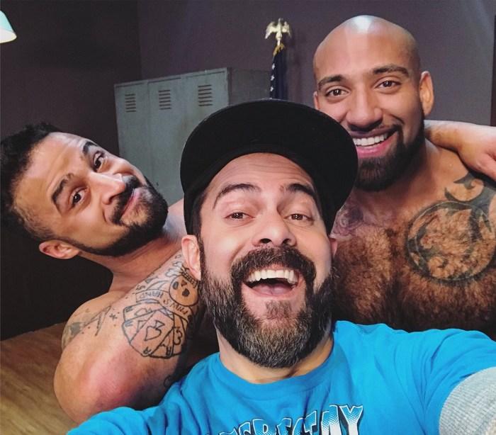 Daymin Voss Damian Taylor Gay Porn Selfie
