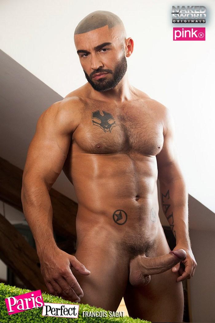 Francois Sagat Gay Porn Star Naked Muscle Big Cock