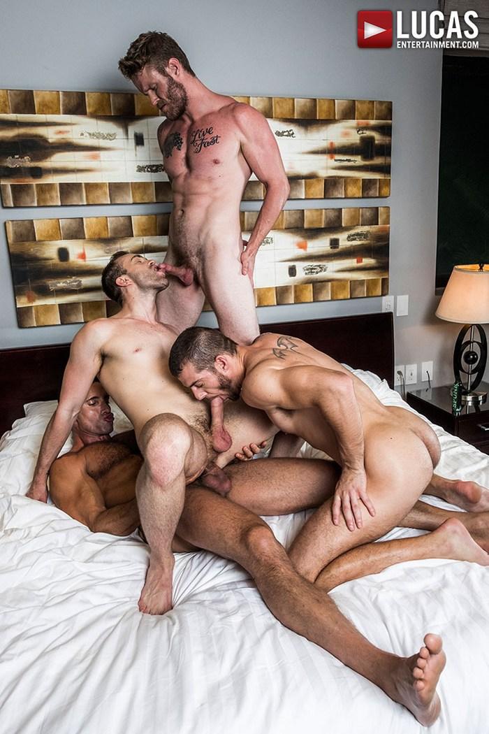 Gay Porn Bareback Orgy Shawn Reeve Jackson Radiz Tryp Bates Nick Capra