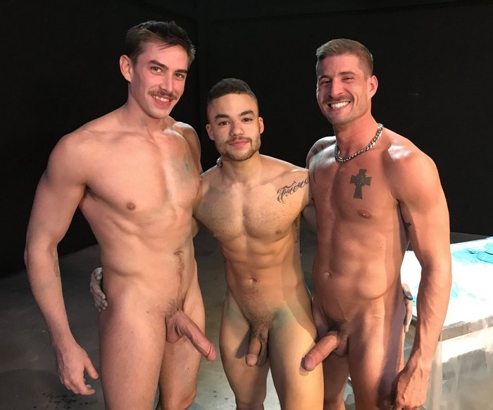 Gay Porn Behind The Scenes Sean Maygers Beaux Banks Jack Hunter