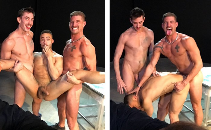 Gay Porn Behind The Scenes Sean Maygers Beaux Banks Jack Hunter