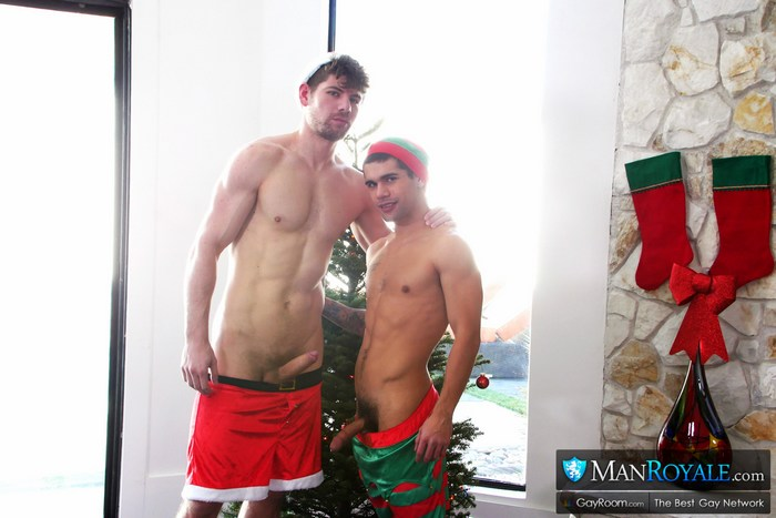 Gay Porn Christmas Santas Little Helper Connor Halstead Ty Mitchell