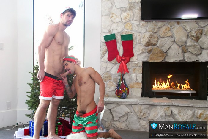 Gay Porn Christmas Santas Little Helper Connor Halstead Ty Mitchell