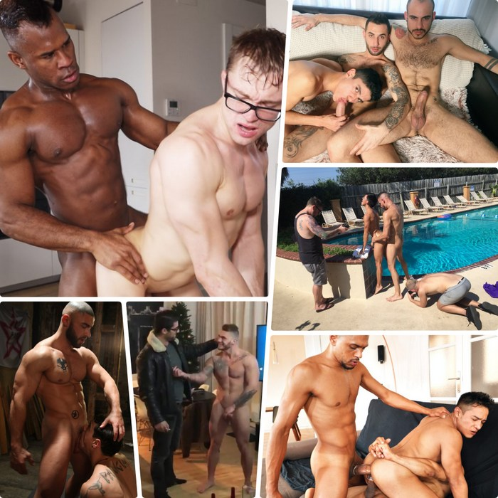 Gay Porn Henrik Sommer William Seed Francois Sagat