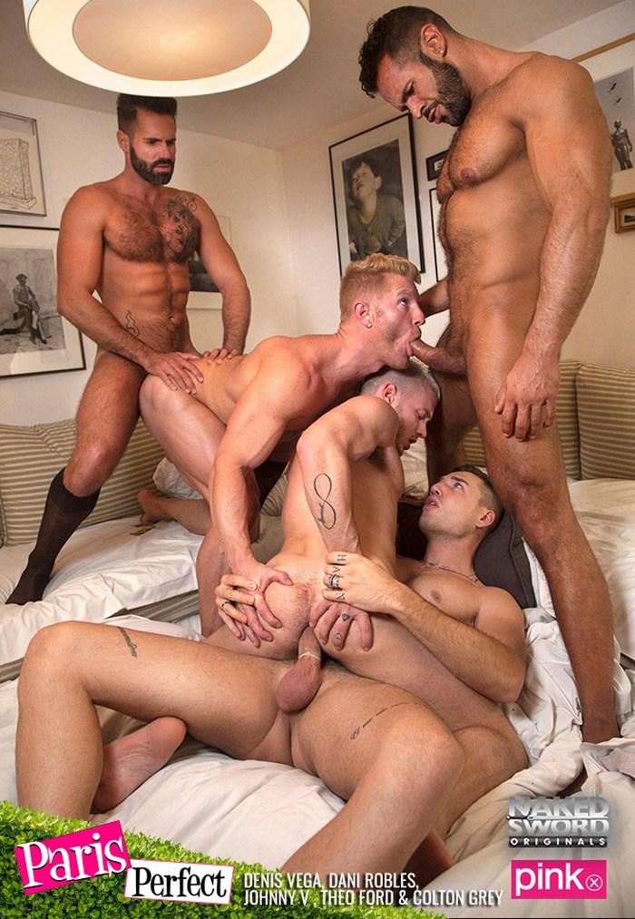 Gay Porn Orgy Johnny V Colton Grey Theo Ford Dani Robles Denis Vega