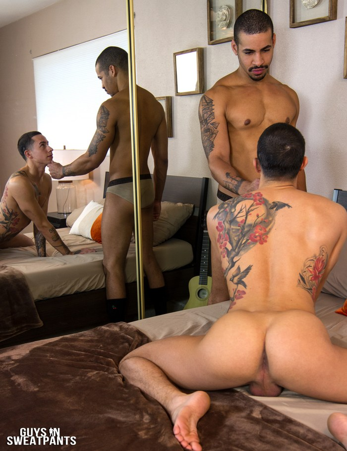 Judas King Gay Porn Vincent OReilly Bareback Sex