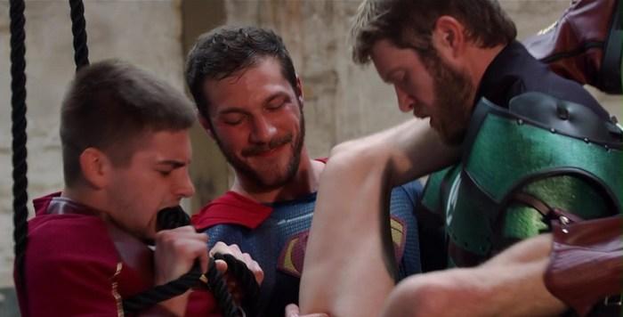batman and superman gay porn