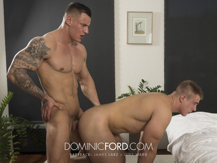 Luke Ward Gay Porn James Larz Viktor Adam Muscle Hunk Bareback Sex DominicFord