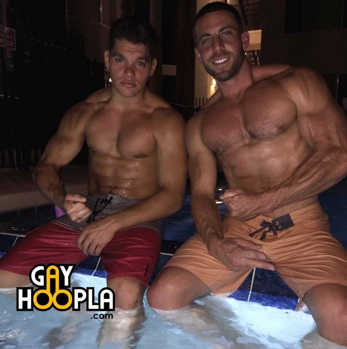 Paul Tiller Derek Jones Gay Porn Stars GayHoopla